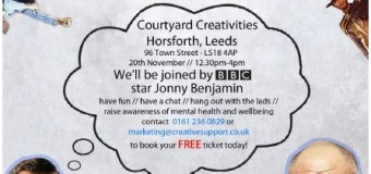 Join Creative Support at their Leeds event